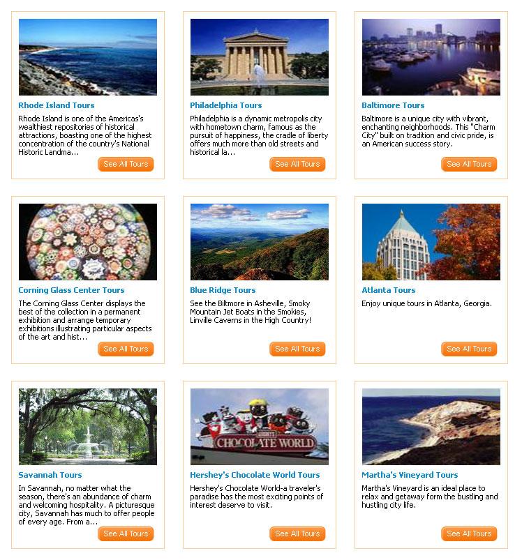 East Coast USA Tours